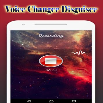 Voice Changer Disguiser apk screenshot