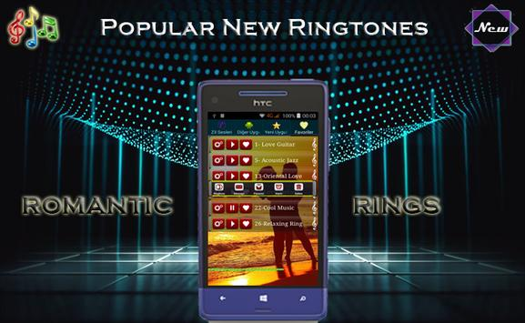 Romantic love ringtones (New apk screenshot