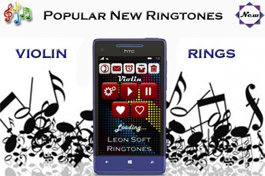 Violin ringtones (New) apk screenshot