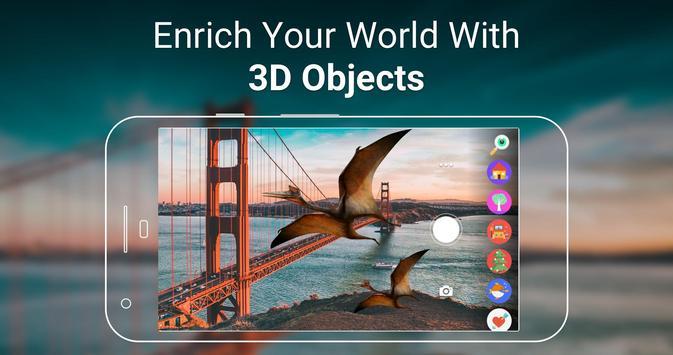 Leo AR - Augmented Reality Camera screenshot 1