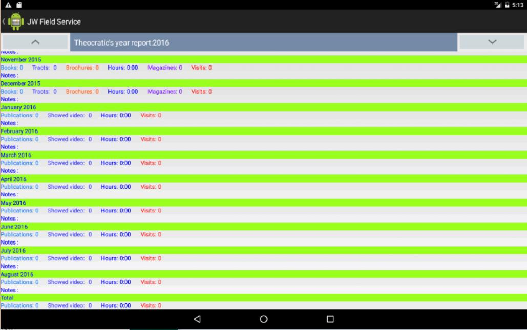 JW Field Servece for Android - APK Download