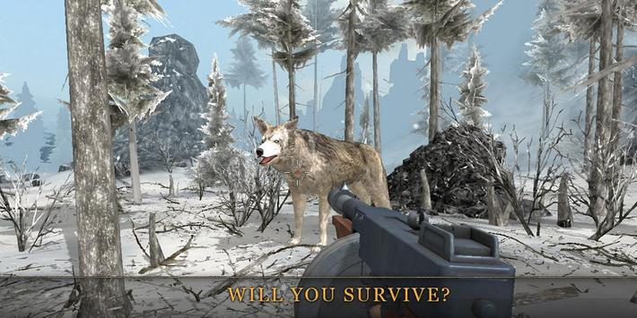 Winter Hunter 3D ™ poster