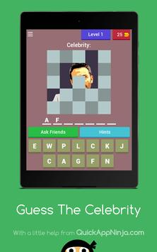 1 picture 1 Celebrity- Guess who I am puzzle apk screenshot