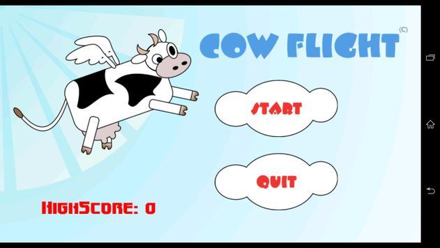 CowFlight apk screenshot