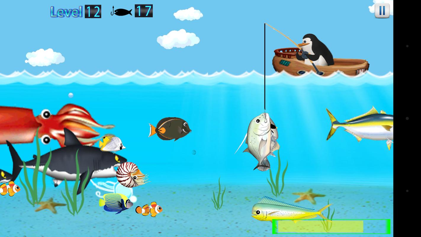 Penguin fishing apk download free casual game for for Penguin and fish