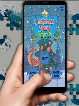 Christmas Word Puzzle poster