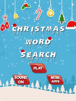 Christmas Word Search poster