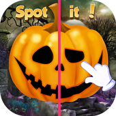 Halloween House Spot The Difference icon