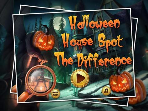 Halloween House Spot The Difference screenshot 3