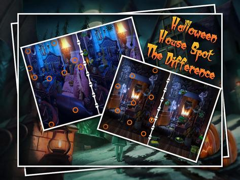 Halloween House Spot The Difference poster
