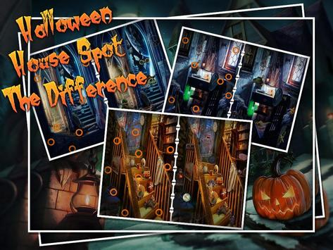 Halloween House Spot The Difference screenshot 1