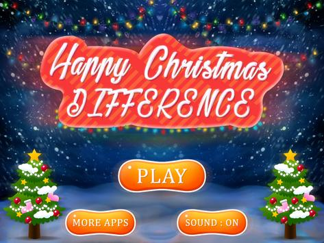 Happy Christmas Difference screenshot 5