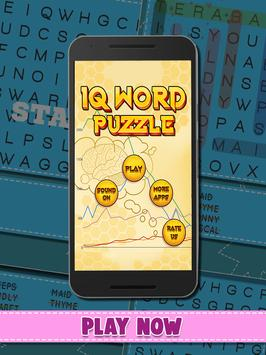 IQ Word Puzzle poster