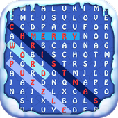 Merry Christmas Word Puzzle icon