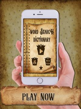 Word Search Dictionary apk screenshot