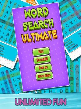 Word Search Ultimate apk screenshot