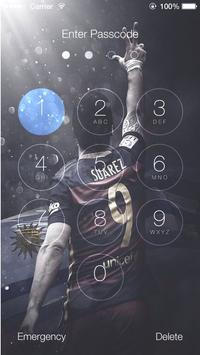 Lockscreen For Fc Barcelona Theme FCB screenshot 4