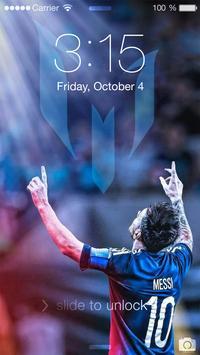 Lockscreen For Fc Barcelona Theme FCB screenshot 1