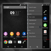 Xperia Black Theme icon