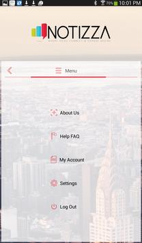 Notizza screenshot 5