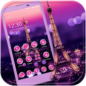 Download apk Dream Paris Eiffel tower Theme for android baru