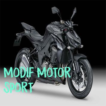 Modif Motor Sport poster