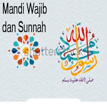 Tuntunan Mandi Wajib & Sunnah poster