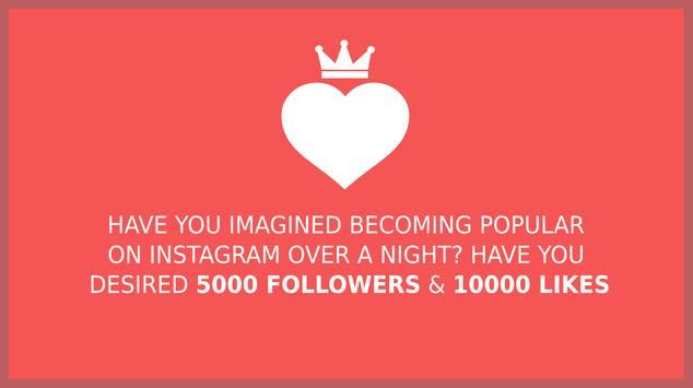 Royal Likes for Instagram captura de pantalla 1