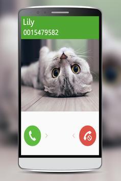 Talking Cat Calling poster