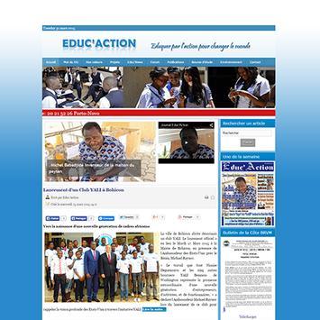 Journal Educ'Action apk screenshot
