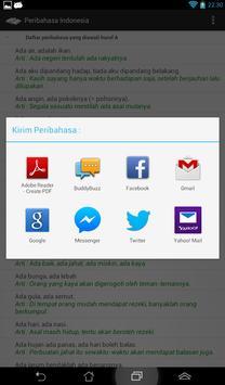 Peribahasa Indonesia apk screenshot