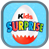 Eggs with surprise for Kids icon
