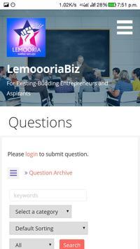 Lemooria Biz screenshot 3