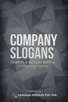 Company Slogan poster
