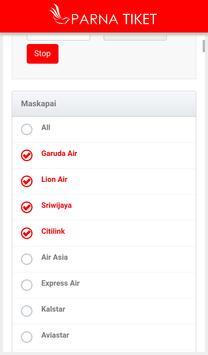 Parna Tiket apk screenshot