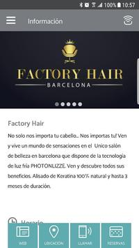 Factory Hair poster