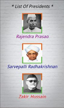 Presidents Of India poster