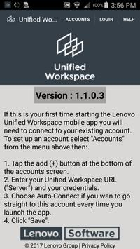 Lenovo Unified Workspace poster