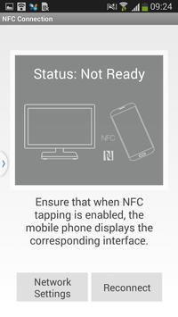 NFC Connection captura de pantalla 1