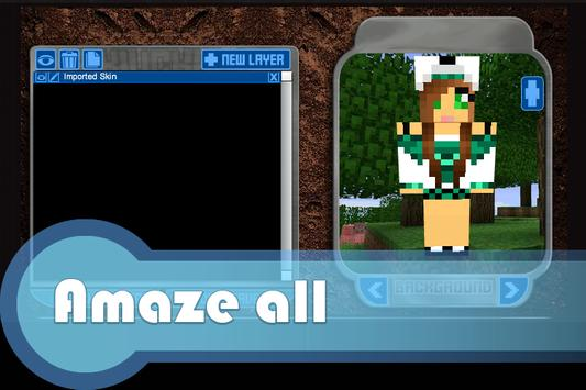 Skins Creator for Minecraft apk screenshot