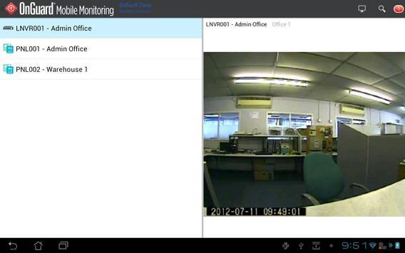 OnGuard Mobile Monitoring screenshot 2