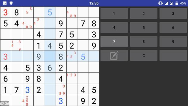 Sudoku Plus apk screenshot