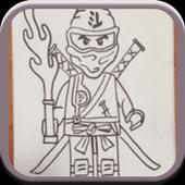 How To Draw Lego Ninjago icon