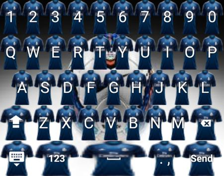 Madrid Keyboard Theme Icon apk screenshot