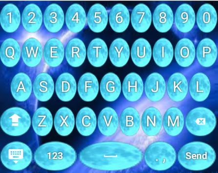 Blue Moon Keyboard Themes Icon apk screenshot