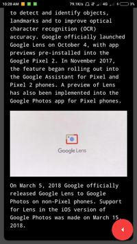 Guide for Google Lens App screenshot 2