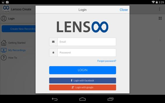Lensoo Create screenshot 2