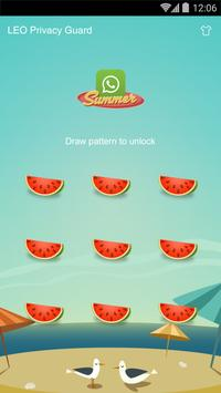 AppLock Theme -Watermelon apk screenshot