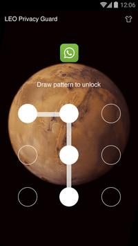 AppLock Theme - Mars Theme screenshot 1