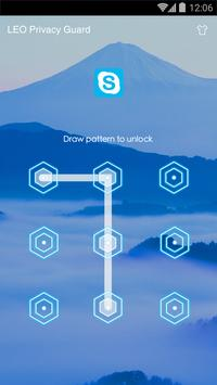 AppLock Theme - Mountain Theme apk screenshot